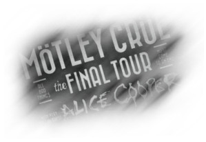 The Final Tour of Motley Crue. Con Alice Cooper de invitado