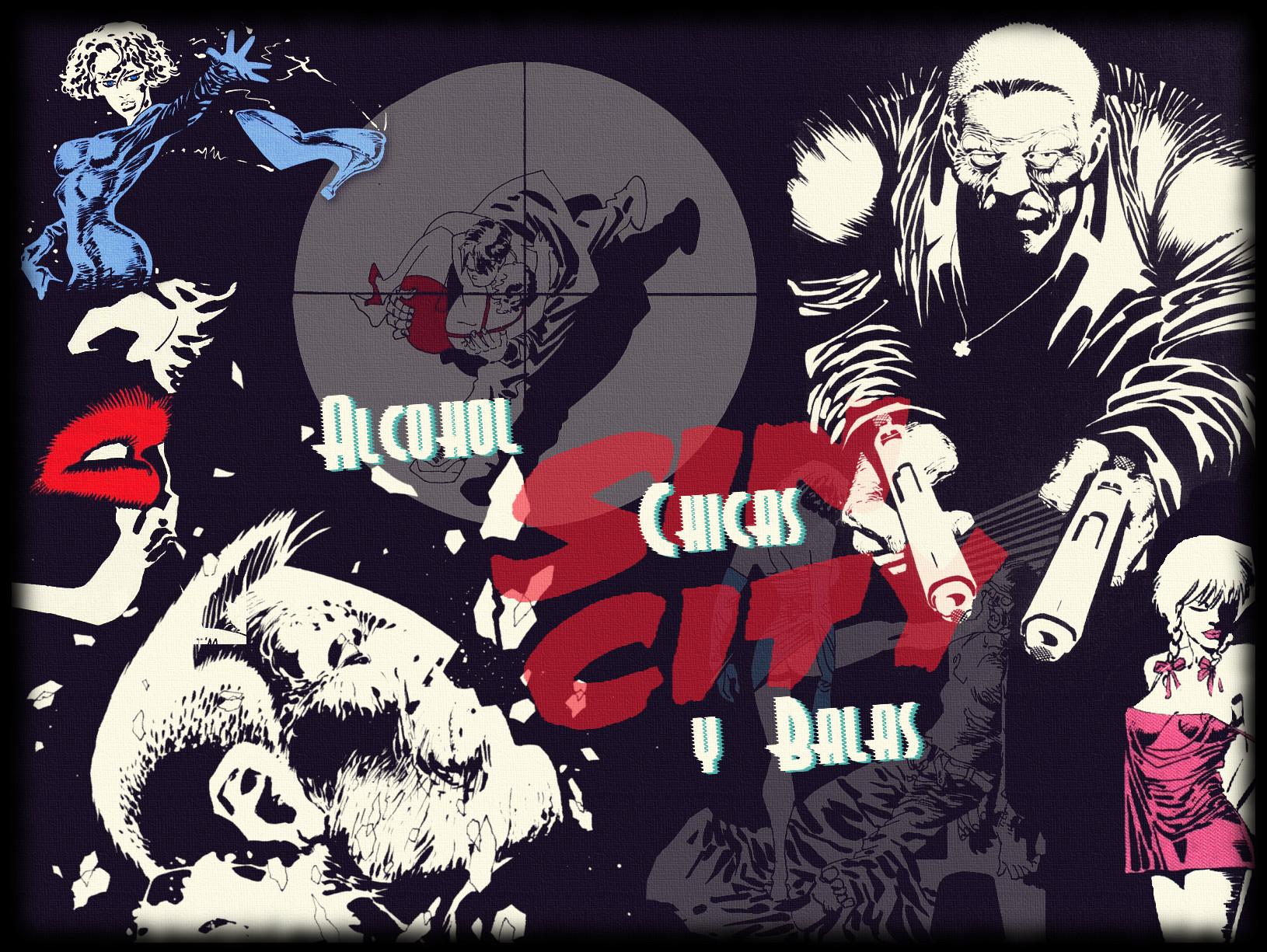 1ee7280125 Cómics de Sin City, una saga de Frank Miller